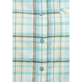 axant Alps Reisshirt Agion Active Dames, blue/green check